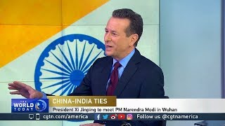 CGTN AMERICA ON NARENDRA MODI CHINA VISIT