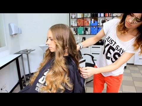 Идеальные локоны на утюжок. Victoria's Secret Hair Tutorial. Big volume curls  | YourBestBlog