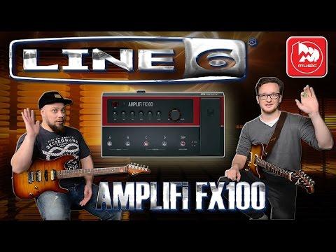 LINE 6 AMPLIFi FX100 - гитарный процессор управляемый с телефона