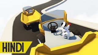 TRUCK DRIVING IN MULTIPLAYER | HUMAN FALL FLAT