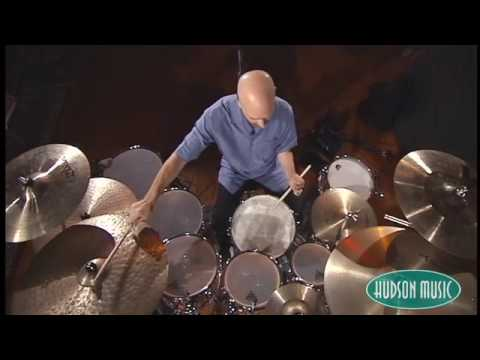 "Steve performs ""Khanda West"", a drum solo based around a quintuplet"