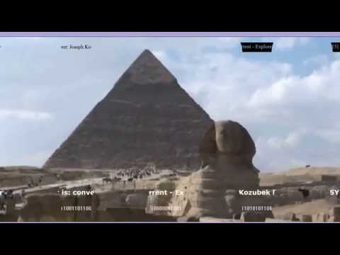 Piramide the Cheops in The Egypt / Giza 25KPNE Converter Electric Current
