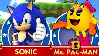 Sonic Dash Sonic vs Ms. Pac-Man