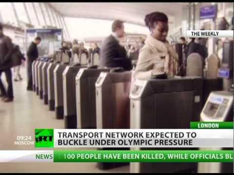 Driven Up The Wall: Transport hell awaits London Olympics