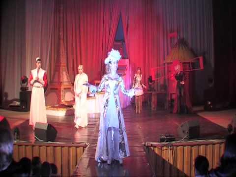Мюзикл Три мушкетера Ария Королевы Весь Париж горит 1