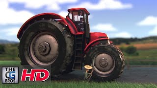 cgi 3d animated short tracteur 3000   by ismail berrahma
