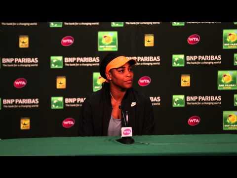 Serena Williams Quarterfinal Press Conference