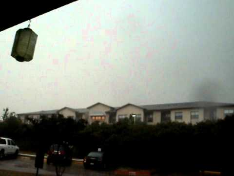Storm in San Antonio 5/12/2011