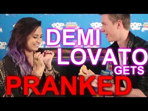DEMI LOVATO TALKS SKYDIVING at Crazy Good Summer Tour