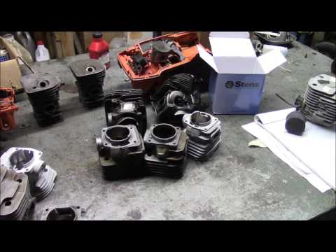 What Is an Open Port Cylinder?? A discussion of chainsaw cylinder designs