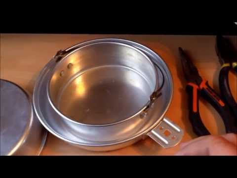 DIY Ultralite Camping Oven