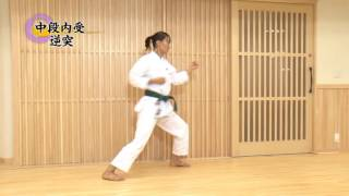 Shotokan Кarate Video Program part-2 with Takahashi Yuko Karate JKA (Japan) for 5-4 Kyu