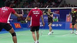 T.Ahmad/L.Natsir v Zhang N./Zhao YL.|XD-SF| Wang Lao Ji BWF World Champ.2013