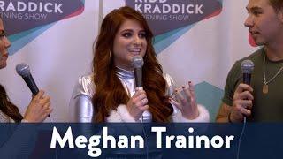 Backstage with Megan Trainor at Jingle Ball 2016 | KiddNation