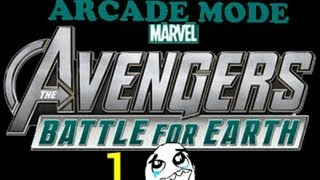Marvel Avengers: Battle for Earth -Kinect Arcade Playthrough pt 1