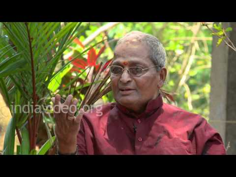 Kalamandalam Gopi on the teaching styles ...