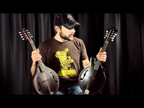 Weber Gallatin Mandolin A vs F - What's the difference?