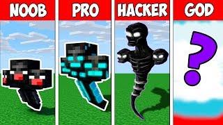 Minecraft NOOB vs PRO vs HACKER vs GOD : WITHER MONSTER EVOLUTION in Minecraft | Animation