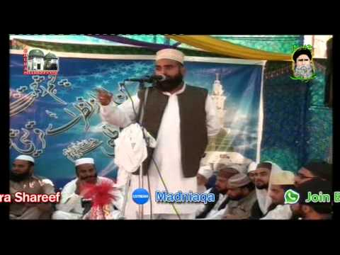 Allama Tayyab Hazarwi Sahib at Chura Shareef Urs Mubarak October 2014