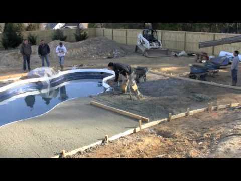 Pooldeck videolike for Splash pool show quebec