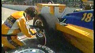 Auto Racing - 1987 - Indy 500 Special Feature - Demonstration Of What Takes Place In A Pit Stop