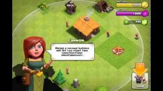 Clash of Clans Gameplay/Commentary part 1: That One Green A-Hole.
