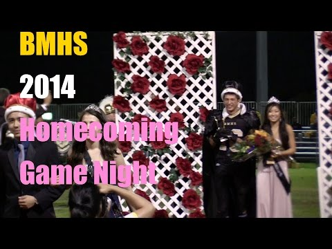Bishop Montgomery High School 2014 Homecoming Game Night - 10/27/2014