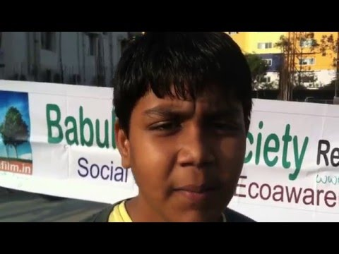 Krishna, a student suggests using of Electric vehicles to reduce air pollution