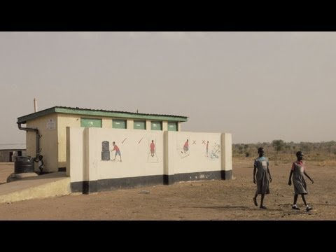 In South Sudan, schools offer lessons in hygiene and health