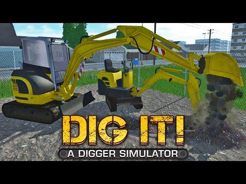 A Digger Simulator - Comprando Mini Escavadeira