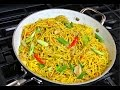 Jerk Chicken Noodle Stir Fry Recipe.