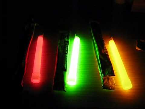 Cyalume lightstick test