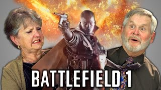 ELDERS REACT TO BATTLEFIELD 1 (Trailer & Gameplay)