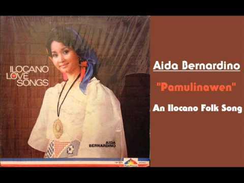 Aida Bernardino - Pamulinawen (ilocano Folk Song) video
