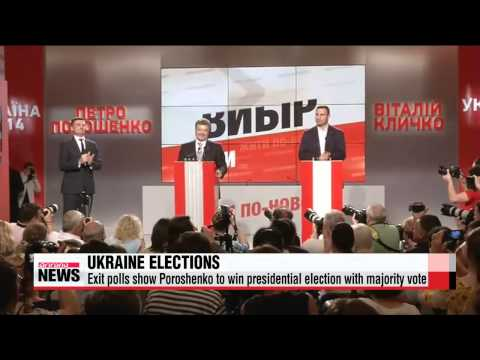 Billionaire Poroshenko claims victory in Ukraine election