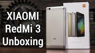 XiaoMi Redmi 3 распаковка и предварительный обзор. UNBOXING XiaoMi Redmi 3 от FERUMM.COM
