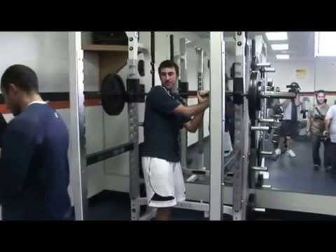 Justin Verlander Training