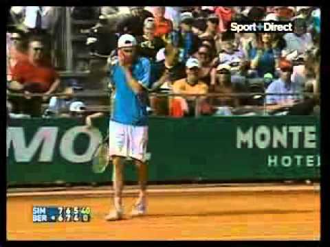 Gilles シモン vs. Tomas Berdych.avi