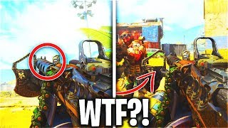 This Broken MOD Shakes Players Screens... (OVERPOWERED) - COD BO4