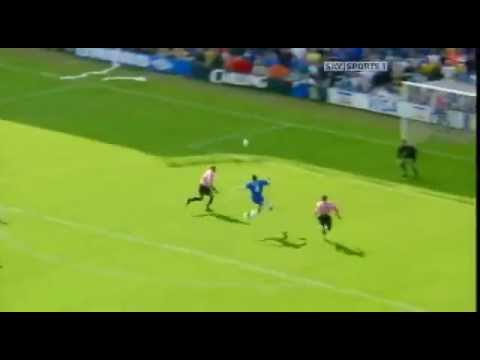09 -- Gustavo poyet  - Chelsea Vs Sunderland  August  7 1999.mp4