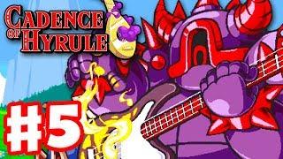 Cadence of Hyrule - Gameplay Walkthrough Part 5 - Bass Guitarmos Knights Bosses! (Nintendo Switch)