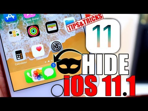 How to Hide Photos, Messages, Phone & More on iPhone iOS 11.0.1 - 11.1