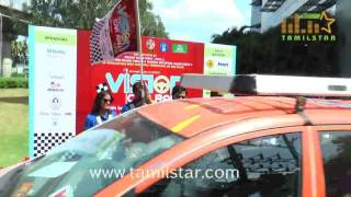 Vaibhav Reddy Flags Off Vision Car Rally 2015
