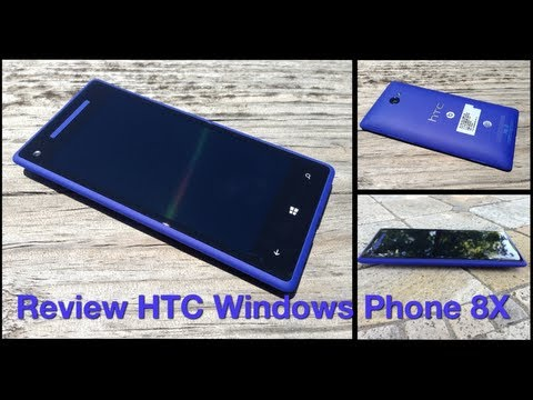 Review HTC Windows Phone 8X - Análisis completo