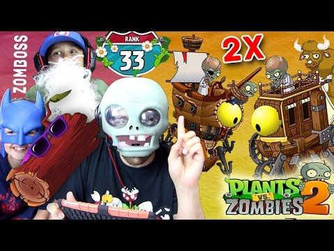 Dr Zomboss Fights Himself Lets Play Pvz 2 End 2x