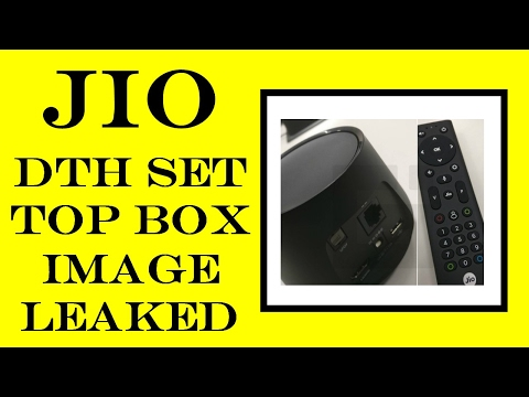 [ Hindi ] Reliance Jio DTH Set Top Box Image Leaked