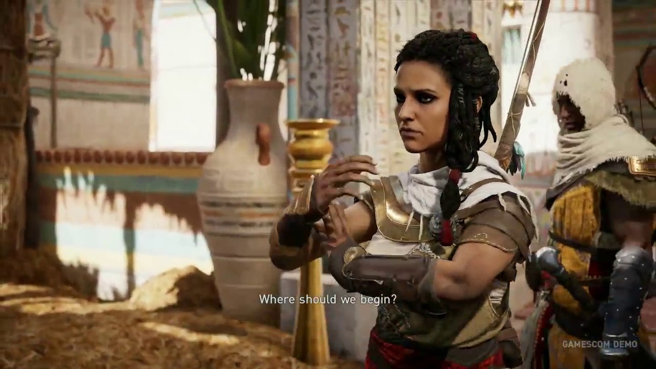 Assassin's Creed Origins: Gamescom mission