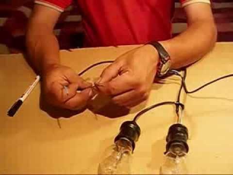 Como hacer una lampara de prueba youtube - Como hacer lamparas ...