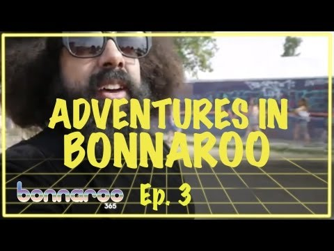 Reggie Watts - Golf Cart Cruise | Adventures In Bonnaroo | Bonnaroo365