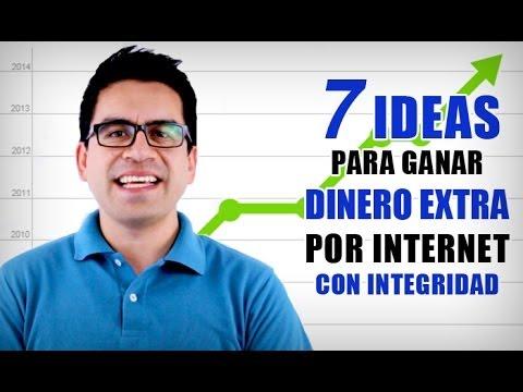 Tutoriales-7 Ideas Para Ganar Dinero Extra por Internet con Integridad
